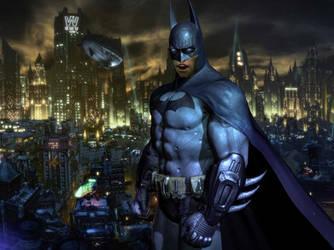 JC Denton is Batman by ShadowGlobe