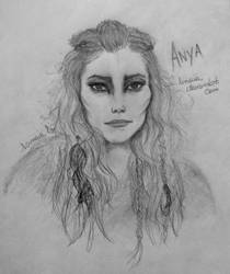 The 100 - Anya by Linaia