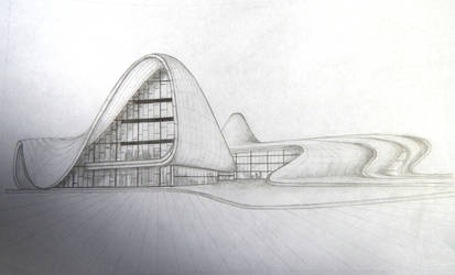 Heydar Aliyev Center by Linaia