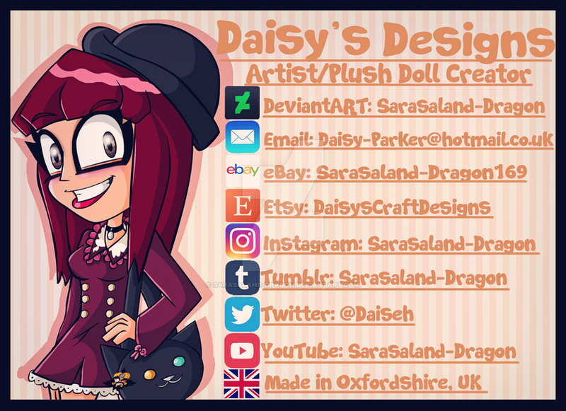 Daisy's Designs Label by Sarasaland-Dragon