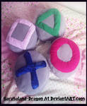 *Re-Upload* Commisison: PlayStation Cushions