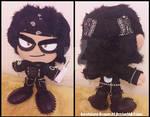 Commission: Steampunk Garrett Plush Doll by Sarasaland-Dragon