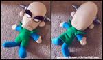 Commission: Medium-sized N.Brio Plush Doll by Sarasaland-Dragon