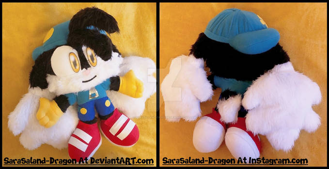 COMMISSION: Medium-sized Klonoa Plush Doll