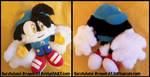 COMMISSION: Medium-sized Klonoa Plush Doll by Sarasaland-Dragon