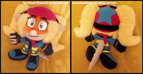 Commission: Small Pasadena O'Possum Plush Doll by Sarasaland-Dragon