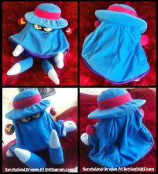 Commission: Mr. Dark Plush Doll by Sarasaland-Dragon