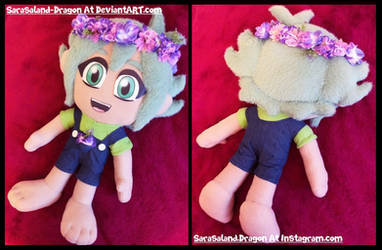 Commission: Basil Plush Doll by Sarasaland-Dragon