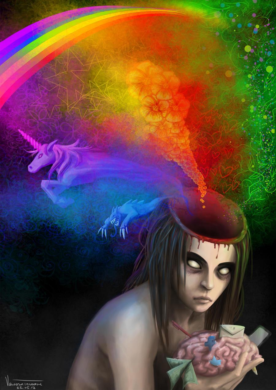 art zombie by tesorone
