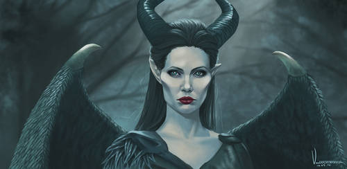 Maleficent by tesorone