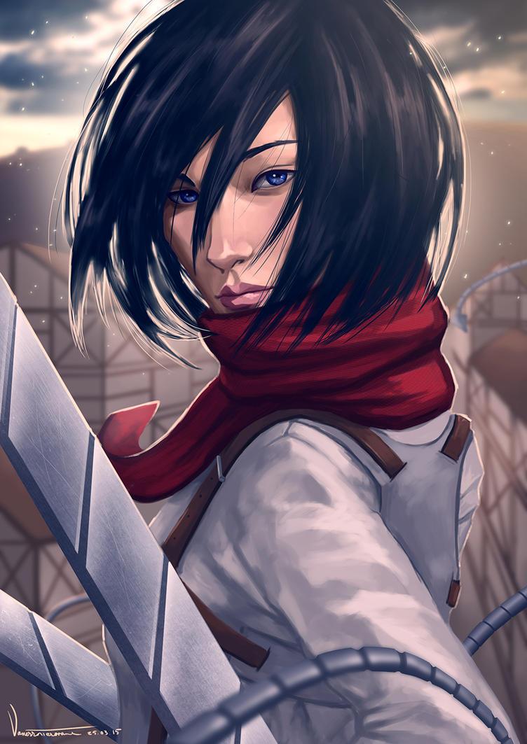 Mikasa by tesorone