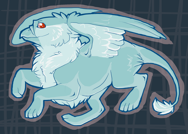 Neopets, Ghost Eyrie by Draxorr
