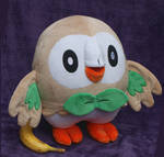 Huge Rowlet plush