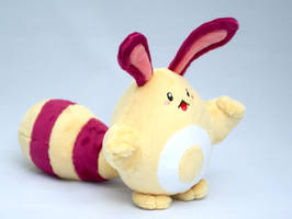 Shiny Sentret plush 2.0 by Draxorr