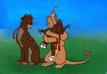 Birthdaykachi by timba