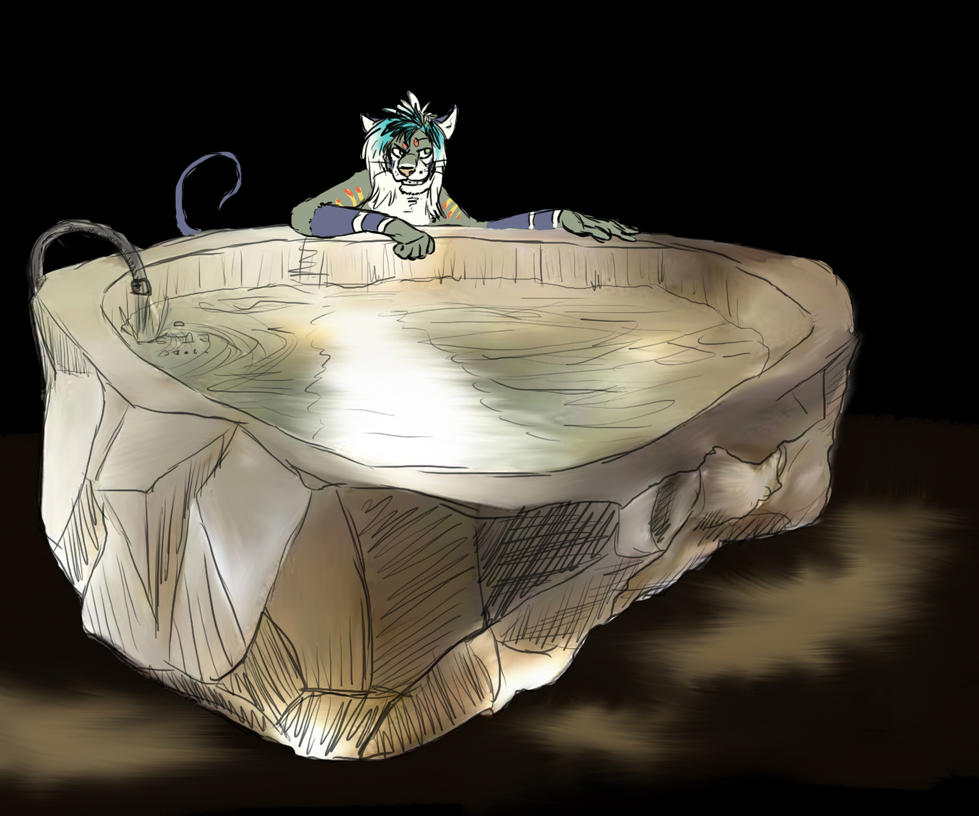 Saga And The Crystal Bathtub By Timba On Deviantart