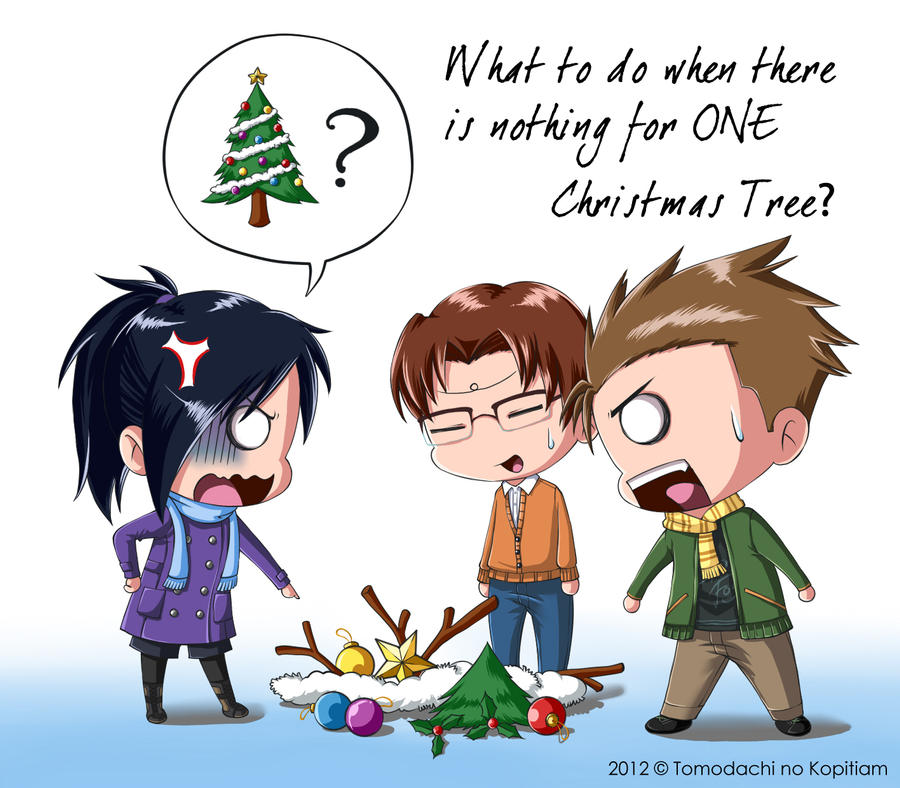 No Christmas Tree? by SylphinaEdenhart on DeviantArt