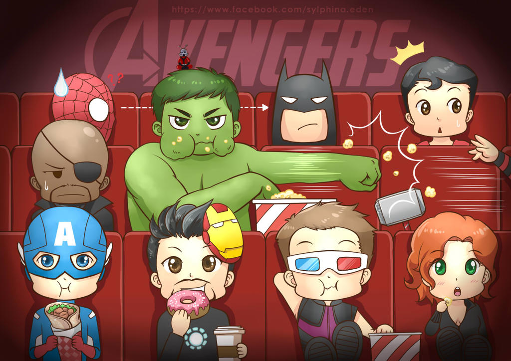 Avengers Assemble...For Movie!!! by SylphinaEdenhart