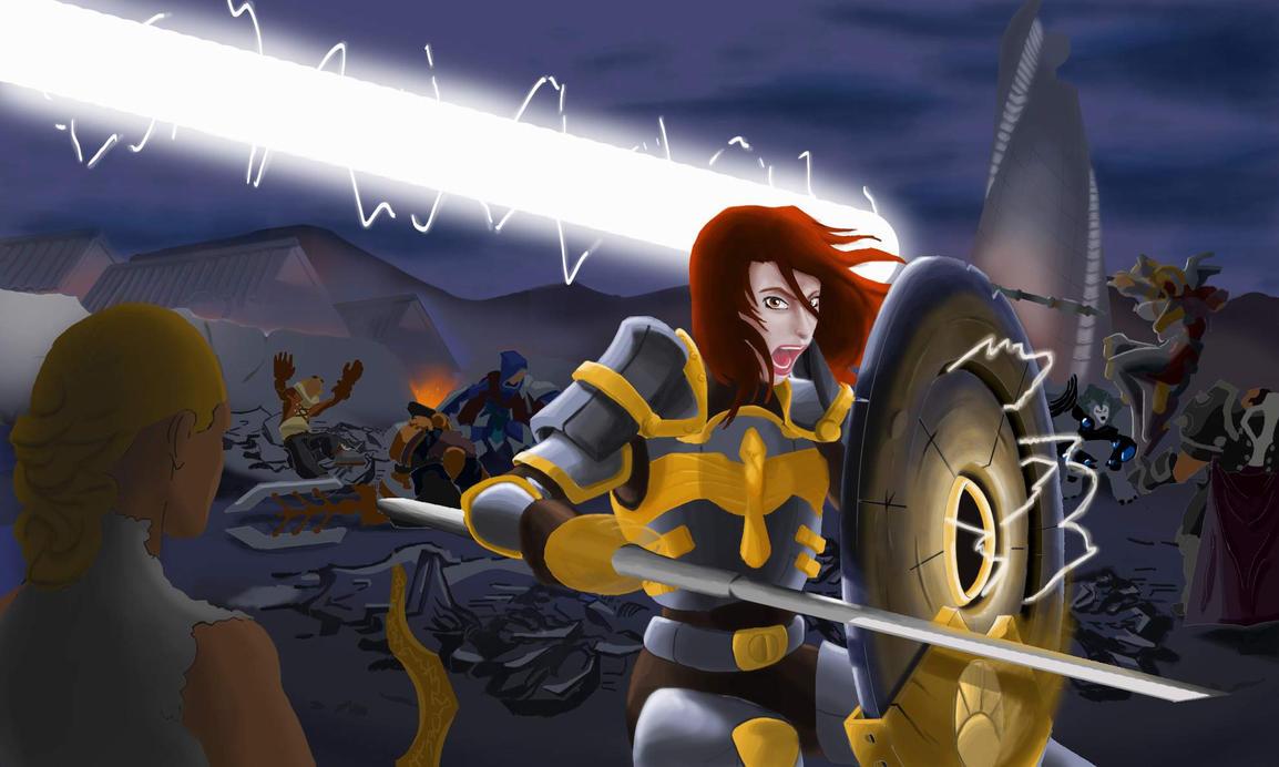 Steel Legion leona resize by jbgremy on DeviantArt