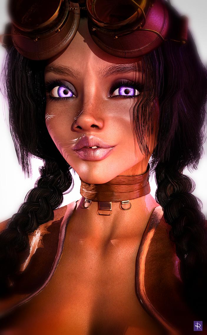 Violet Dromedes - Concept Revised by just-trish