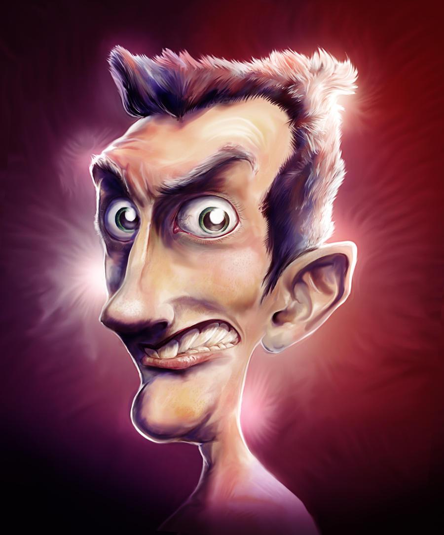 Weird Starey Guy by 2createmedia