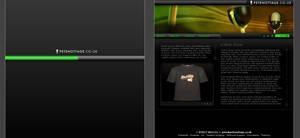 Radio DJ site design