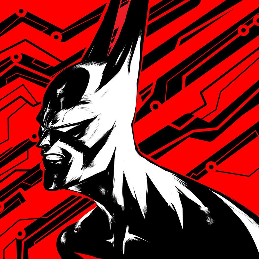 Batman Beyond by suarezart