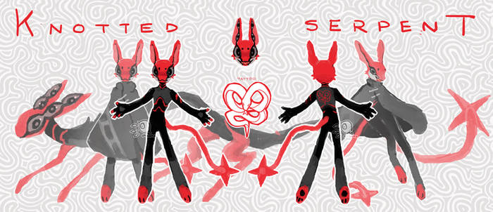 [CLOSED] Knotted Serpent (Xaeco GA Adopt)