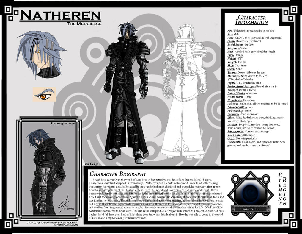Natheren Character Sheet 01 by Natheren