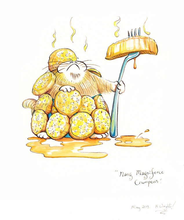 Nang Magnifence Crumpeus by DrawingForMonkeys