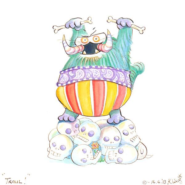 Traul! by DrawingForMonkeys