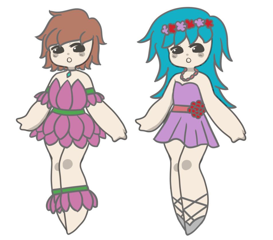 Flower Girl Adopts - CLOSED by Blithe-Adopts