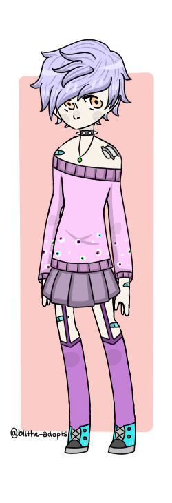 Aesthetic Adopt Reveal #3 by Blithe-Adopts