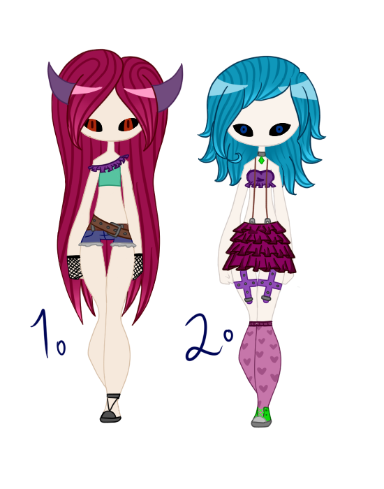 Adoptables - 1/2 OPEN PRICE REDUCED by Blithe-Adopts