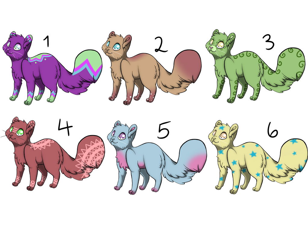 Feline Adopts - OPEN by Blithe-Adopts