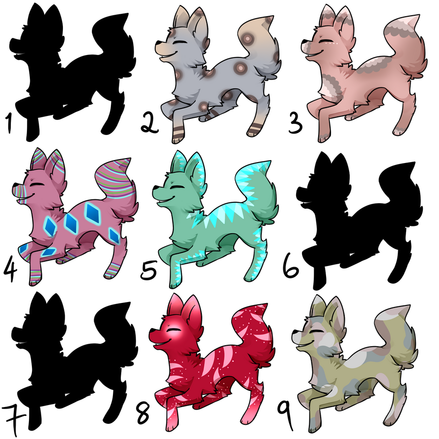 Canine Adopt Batch - OPEN by Blithe-Adopts