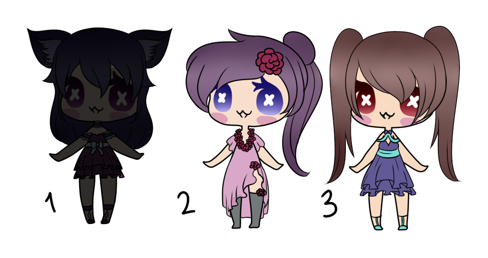 20 Points!! - Humanoid Adopts - OPEN by Blithe-Adopts