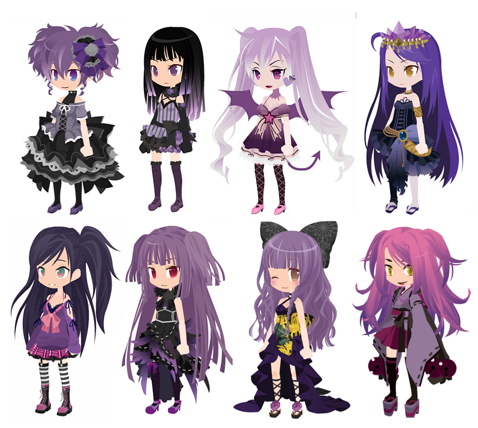 FREE 'Purple' Theme Dreamselfy Adopts [CLOSED] by Blithe-Adopts