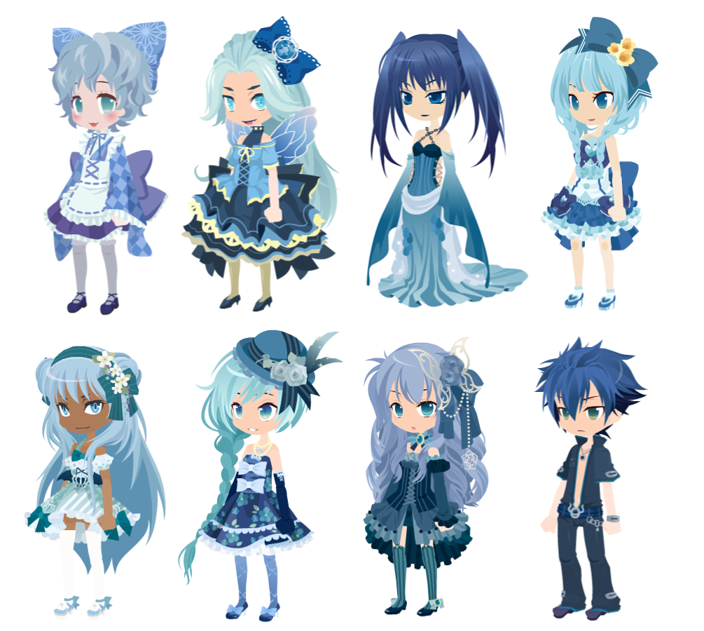 FREE 'Blue' Theme Dreamselfy Adopts [CLOSED] by Blithe-Adopts