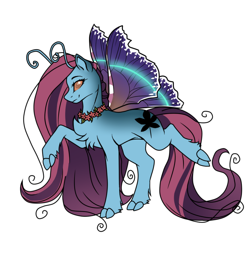 FlutterPony Adopt [CLOSED] by Blithe-Adopts