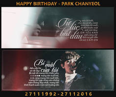 HAPPY BIRTHDAY - PARK CHANYEOL by Only148cm
