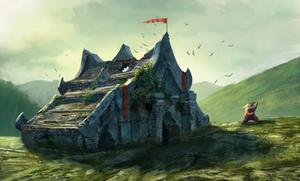 panda temple by IgorDyrden