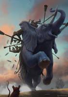 war elephant by IgorDyrden