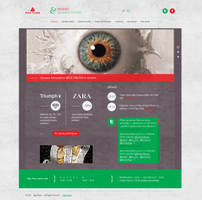 Web design for Riga Plaza