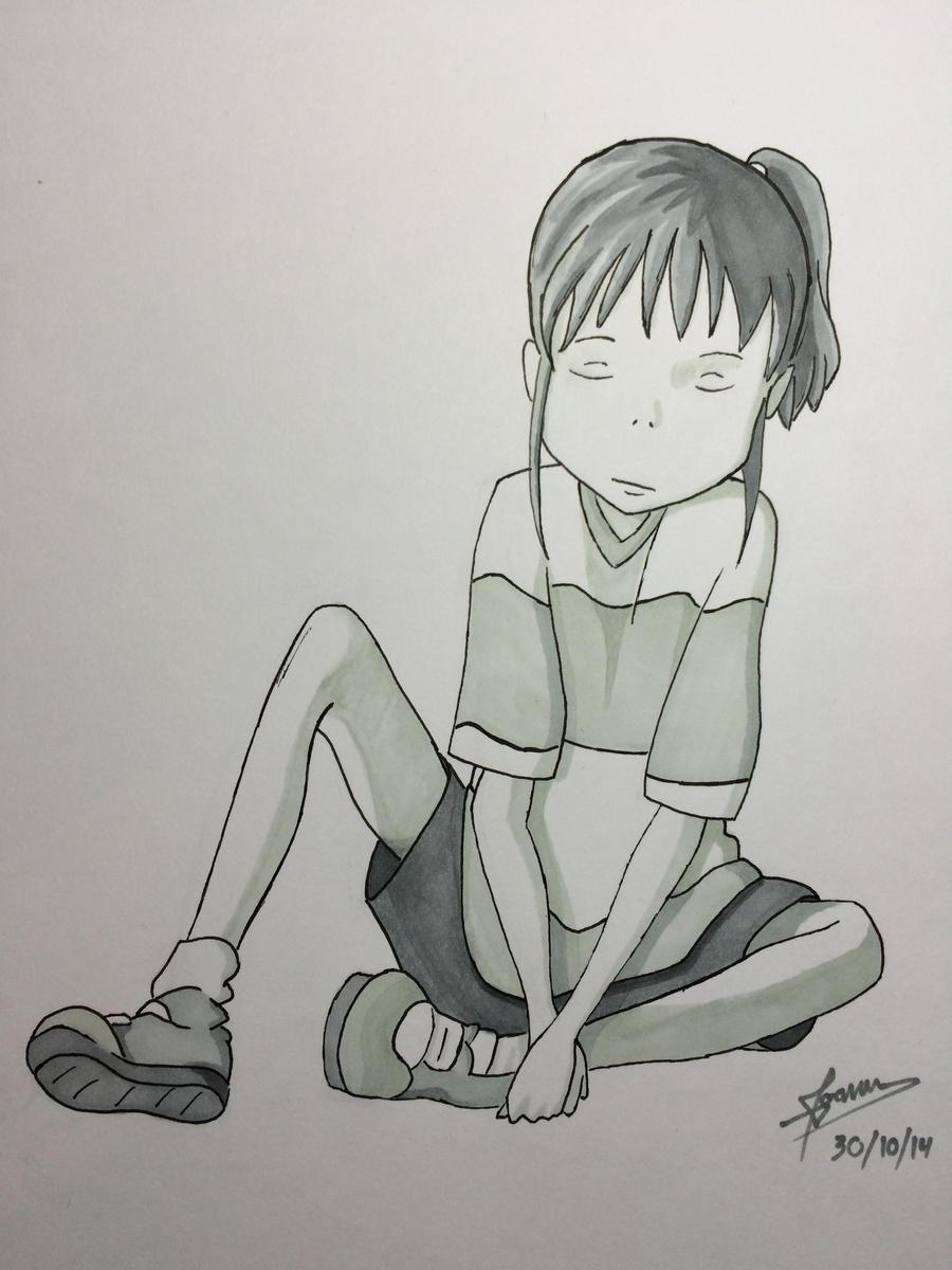 Chihiro - Spirited Away - 1 by Fox-2k