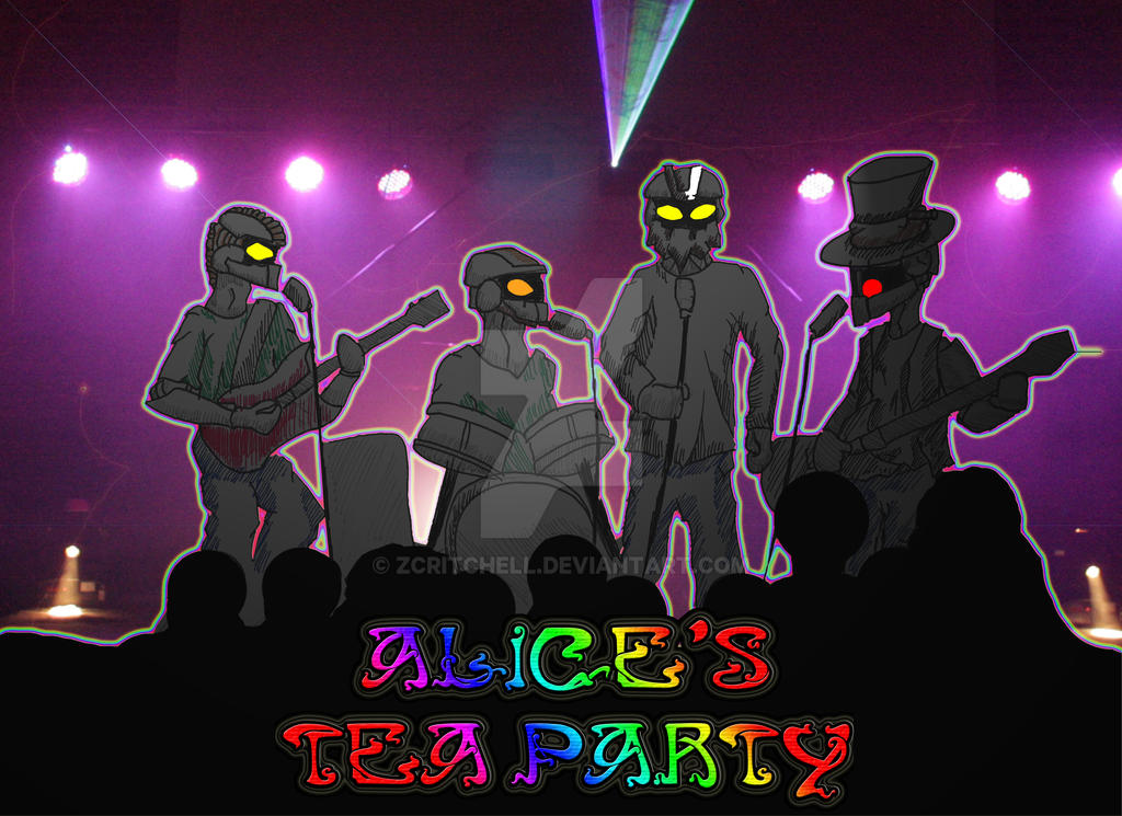 Alice's Tea Party in Jpic form! by zcritchell