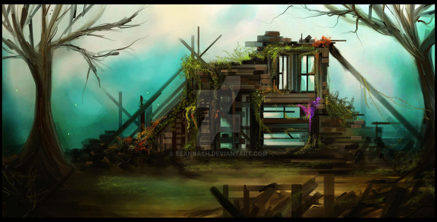 Fallen House by SeanNash