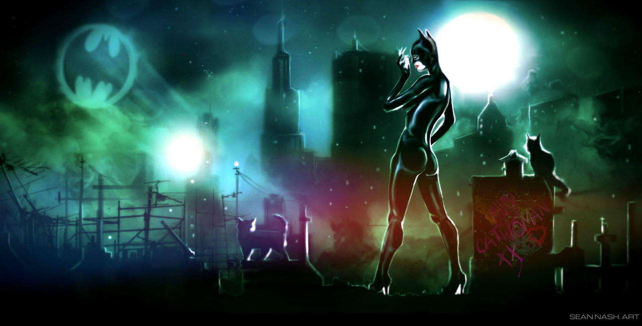 CATWOMAN by SeanNash