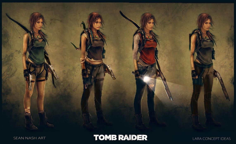 Tomb Raider - Lara Concept Ideas by SeanNash