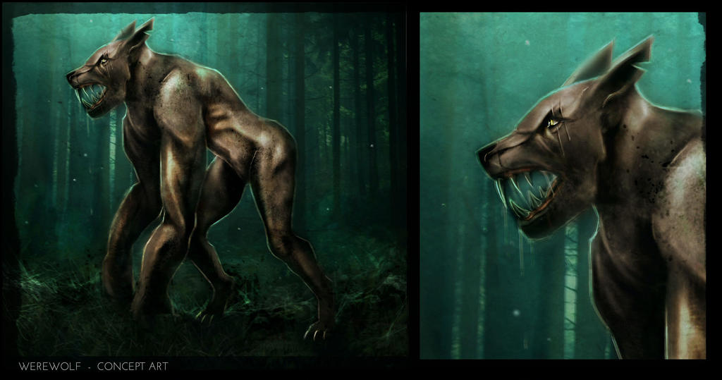 Werewolf Concept by SeanNash